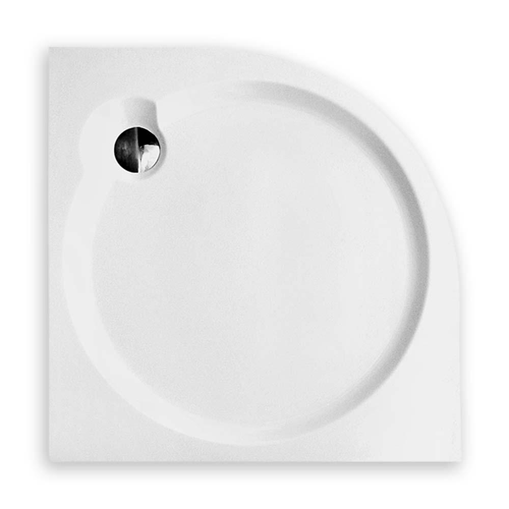 DREAM FLAT /800, Délka: 80 cm, Rádius: R550, Rozměr: 800 × 800, Šířka: 80 cm, Typ: DREAM FLAT 800, Výška (h): 60 mm, Způsob dodání: S, DREAM FLAT