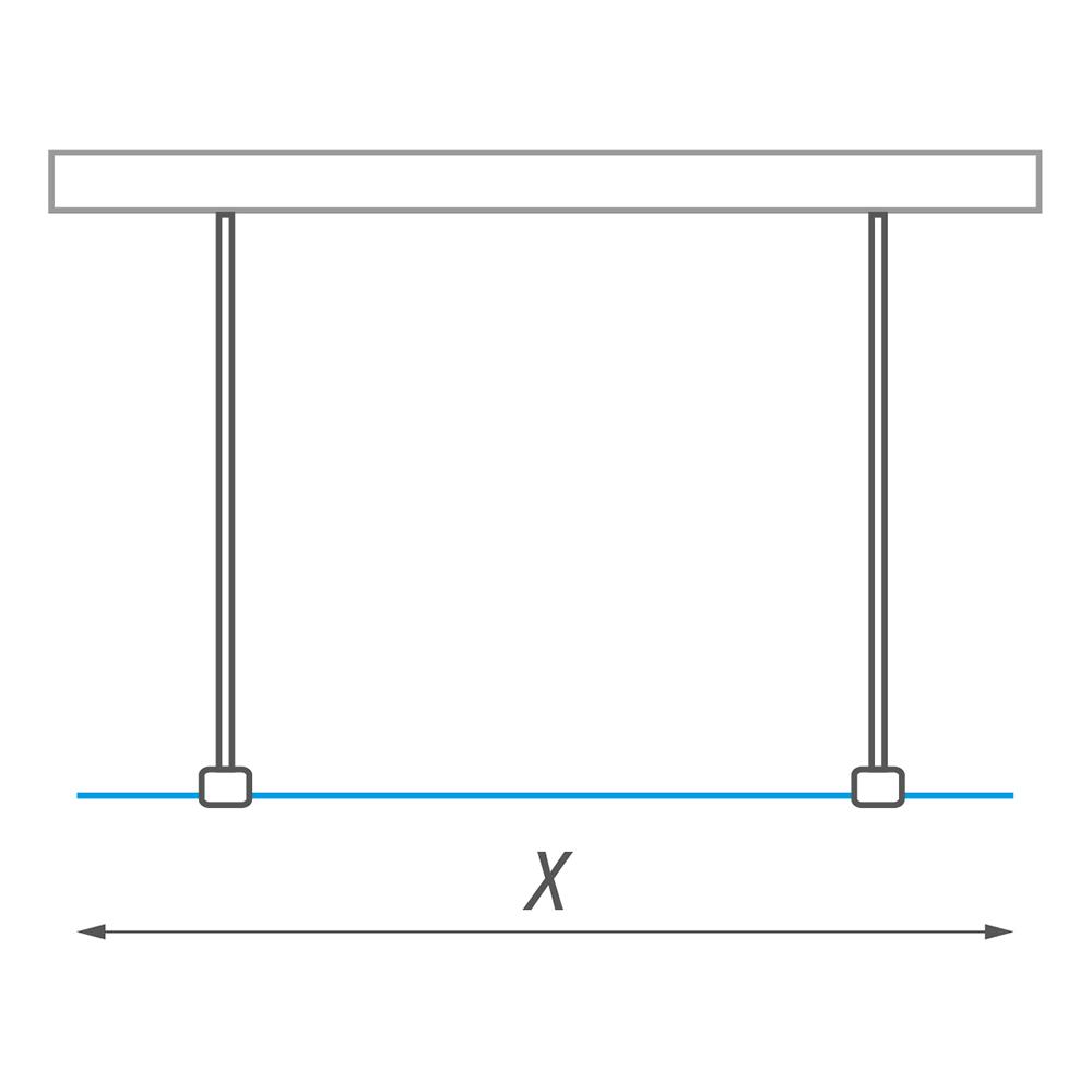 WALK H/1200, Nominální rozměr x,y: 1200, Profil: Brillant, Typ: WALK H/1200, Výplň: Transparent, Výška (h): 2026 mm, Způsob dodání: O, WALK H