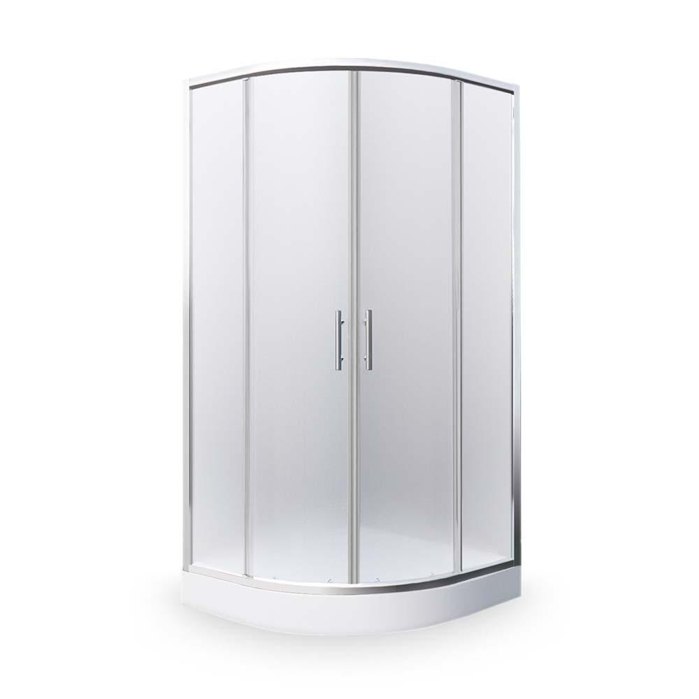 HOUSTON NEO/800, Instalační rozměr (y): 780–790, Profil: Brillant, Typ: HOUSTON NEO/800, Vstupní otvor (c): 420, Výplň: Matt glass, Výška (h): 1900 mm, Způsob dodání: S, HOUSTON NEO