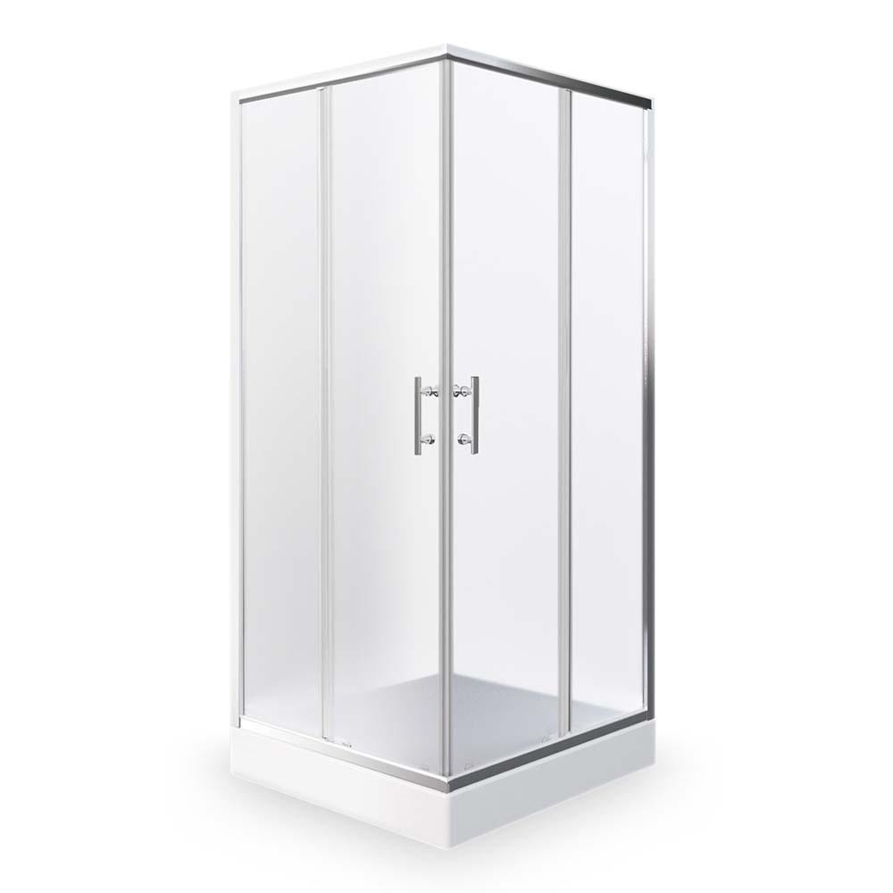 ORLANDO NEO/800, Instalační rozměr (y): 780–790, Profil: Brillant, Typ: ORLANDO NEO/800, Vstupní otvor (c): 415, Výplň: Matt glass, Výška (h): 1900 mm, Způsob dodání: S, ORLANDO NEO