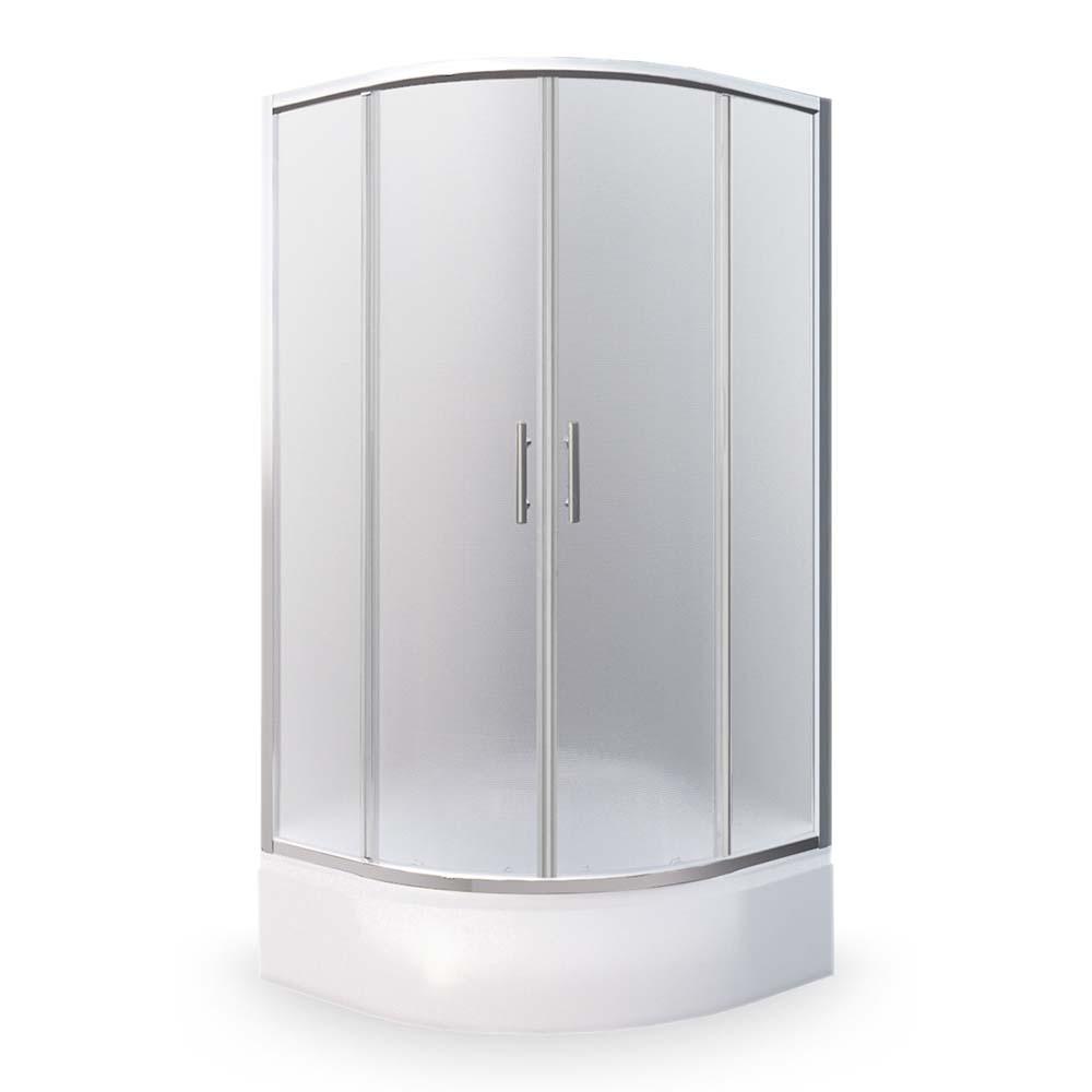 PORTLAND NEO/800, Instalační rozměr (y): 780–790, Profil: Brillant, Typ: PORTLAND NEO/800, Vstupní otvor (c): 420, Výplň: Matt glass, Výška (h): 1650 mm, Způsob dodání: S, PORTLAND NEO