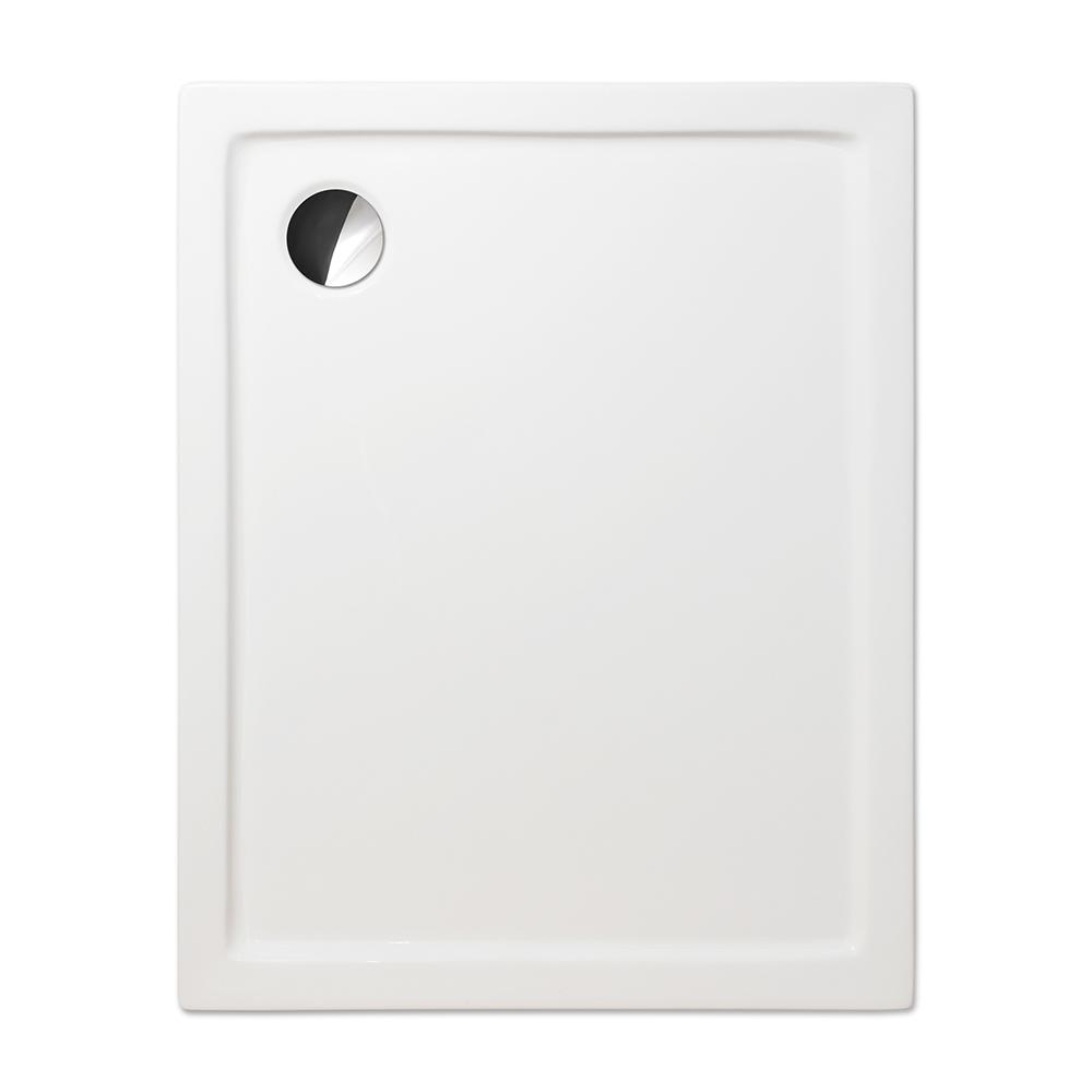 FLAT KVADRO/800x900, Rozměr: 800 × 900, Typ: FLAT KVADRO/800x900, Výška (h): 50 mm, Způsob dodání: S, FLAT KVADRO obdélník