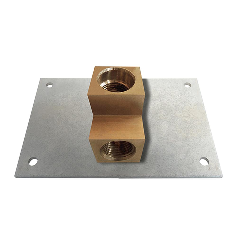 """Podomítkové TĚLESO, Typ: Instalační deska s přípojným adaptérem G1/2"""" × G1/2"""" - mosaz, Způsob dodání: S, Podomítkové TĚLESO Roltechnik"""